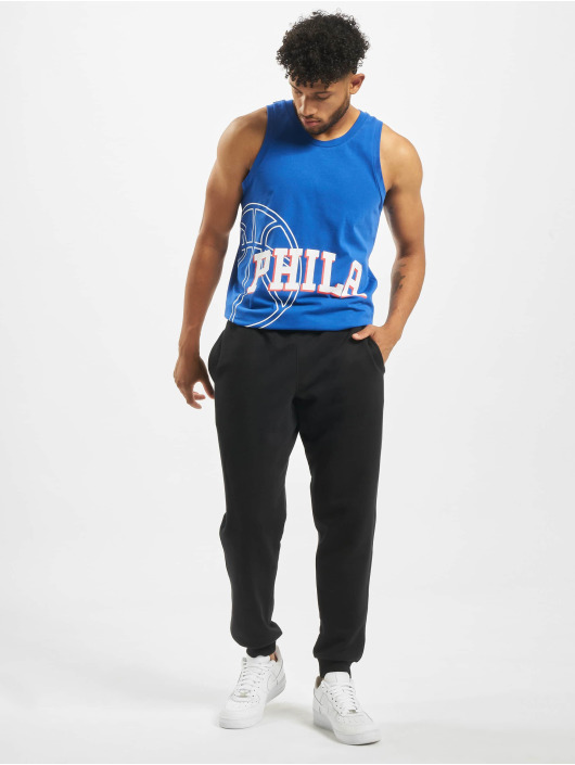 New Era Tank Tops NBA Philadelphia 76ers Basketball Graphic modrá