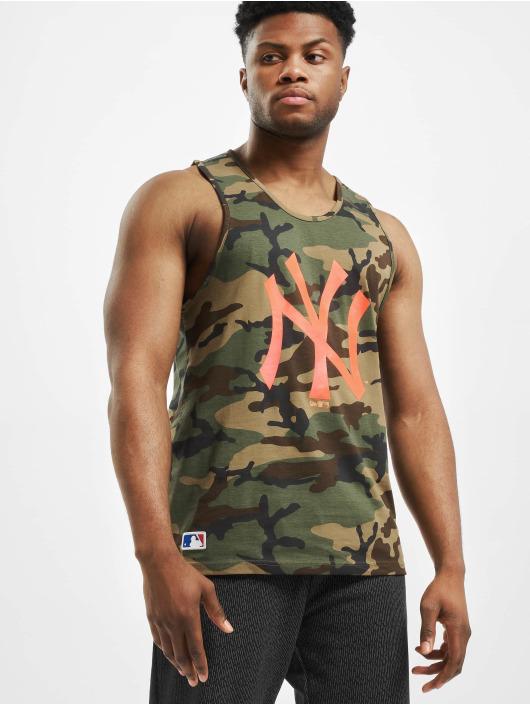 New Era Tank Tops MLB NY Yankees Camo moro