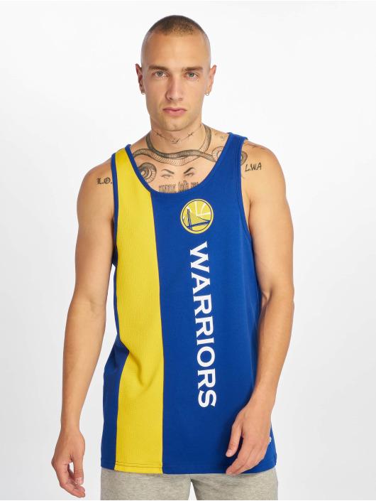New Era Tank Tops NBA Golden State Warriors Wordmark niebieski
