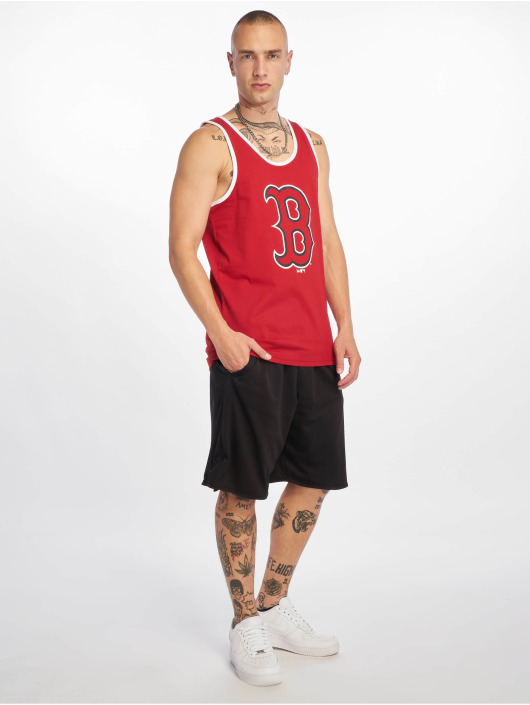 New Era Tank Tops MLB Boston Red Sox Logo red