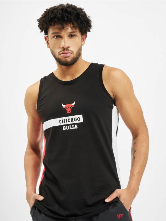New Era Tank Tops NBA Chcago Bulls Block Wordmark schwarz