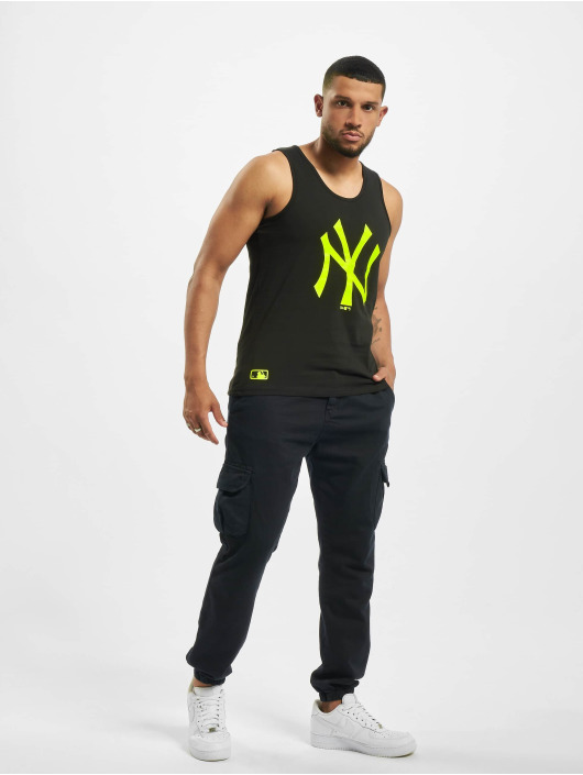 New Era Tank Tops NY Yankees Neon Logo svart