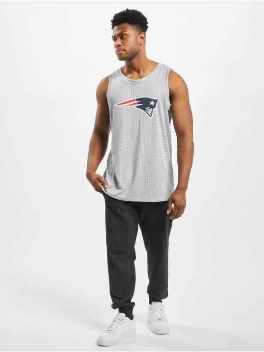 New Era Tank Tops NFL New England Patriots Logo szary