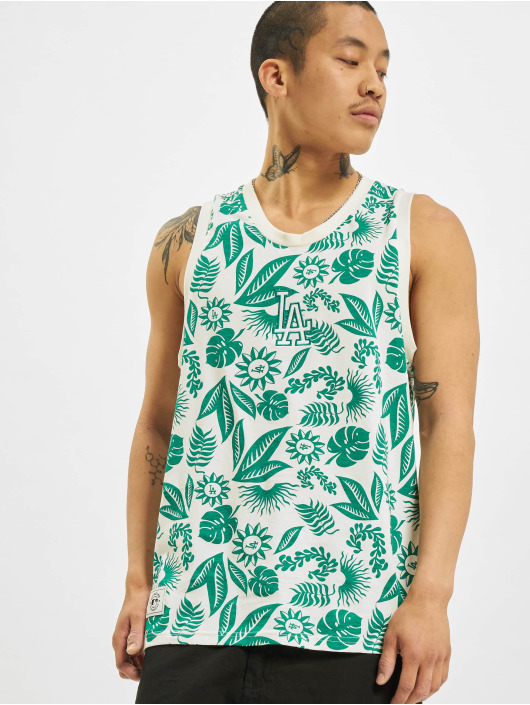New Era Tank Tops MLB Los Angeles Dodgers Floral AOP white
