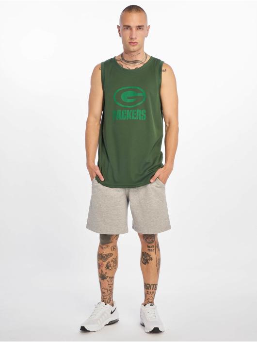 New Era Tank Tops NFL Green Bay Packers Tonal Logo zielony