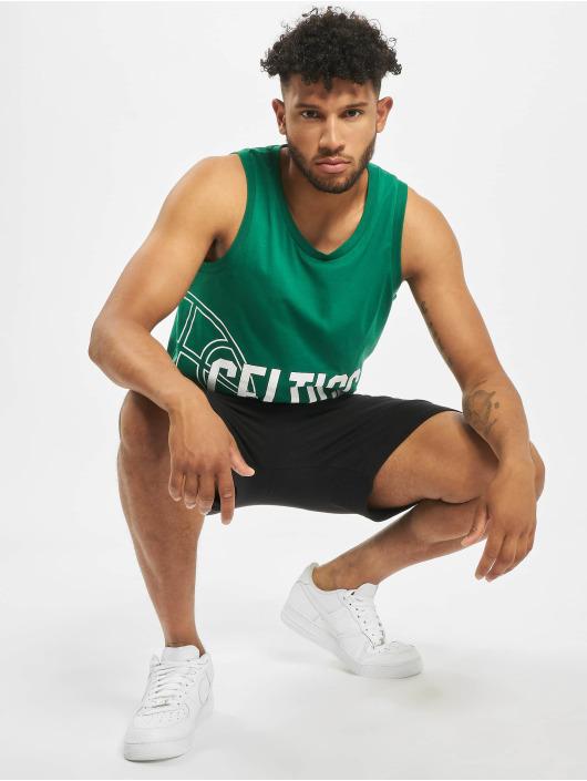 New Era Tank Tops NBA Boston Celtics Basketball Graphic zielony