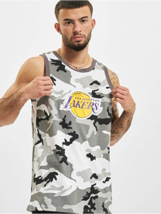 New Era Tanktop NBA Los Angeles Lakers camouflage