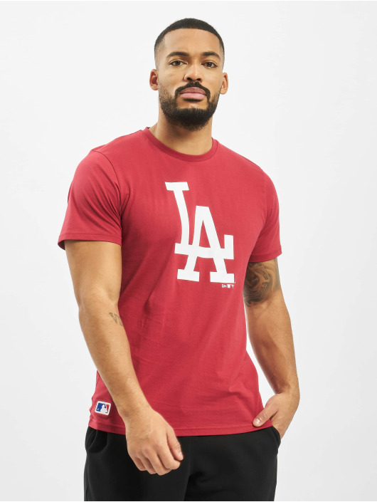 New Era Tričká MLB LA Dodgers Seasonal Team Logo èervená
