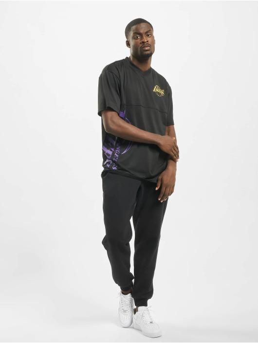 New Era Tričká NBA LA Lakers Vertical Wordmark èierna