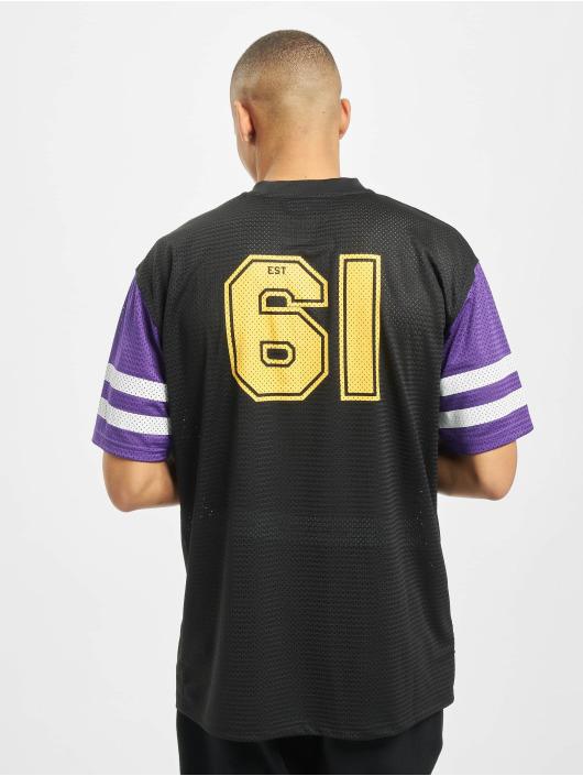 New Era Tričká NFL Minnesota Vikings Contrast Sleeve Oversize èierna