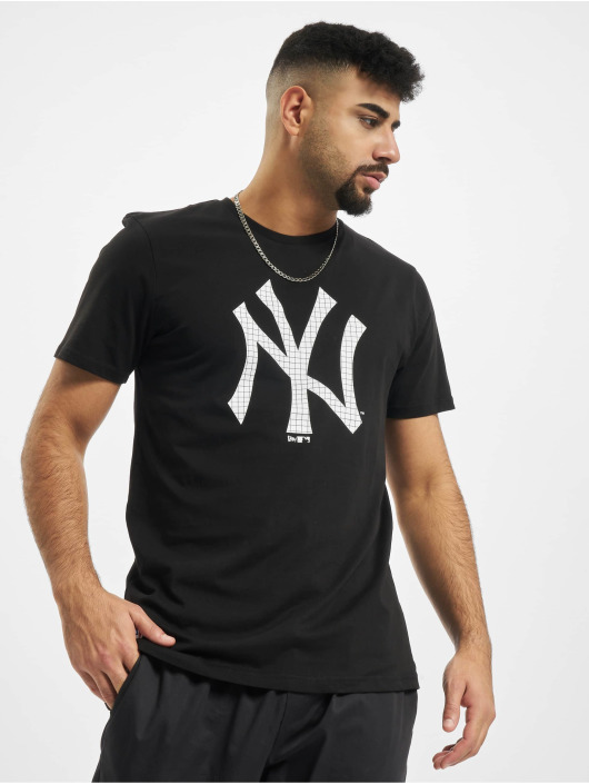 New Era Tričká MLB Infill Team Logo New York Yankees èierna