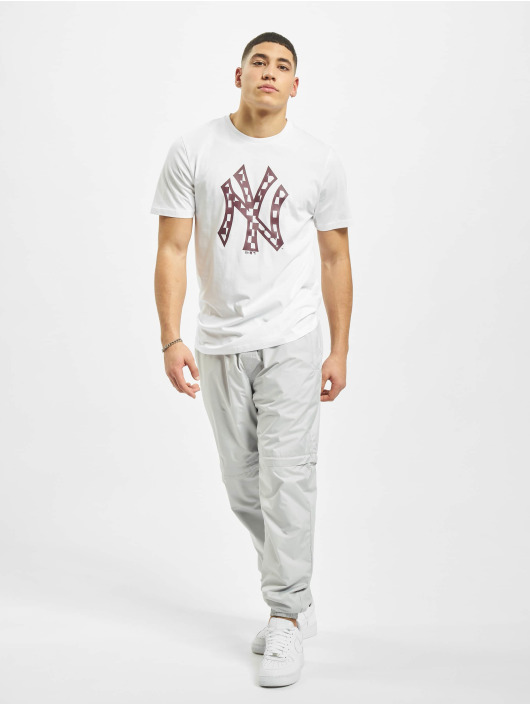 New Era Tričká MLB NY Yankees Infill Logo biela