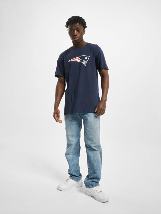 New Era Tričká Team Logo New England Patriots modrá