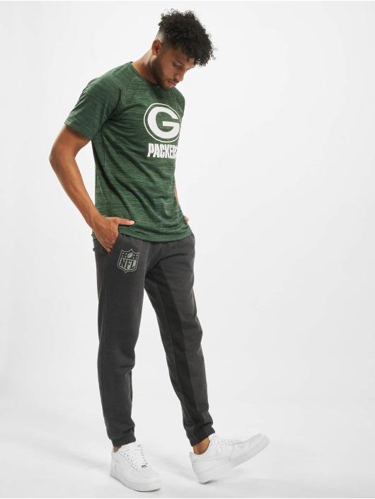 New Era Tričká NFL Green Bay Packers Engineered Raglan zelená