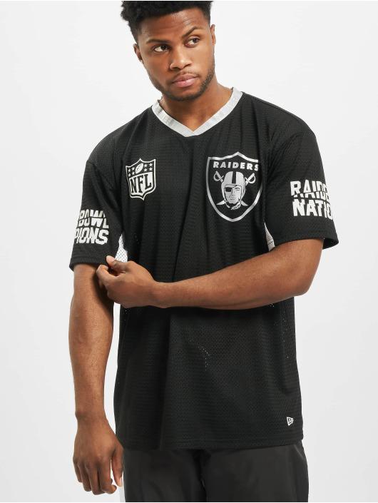 New Era Trika NFL Oakland Raiders Oversized čern