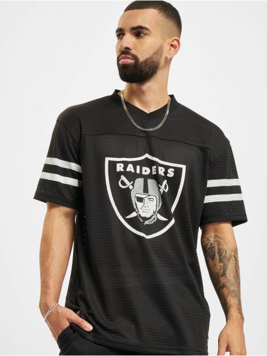 New Era Trika NFL Las Vegas Raiders Outline Logo Oversized čern