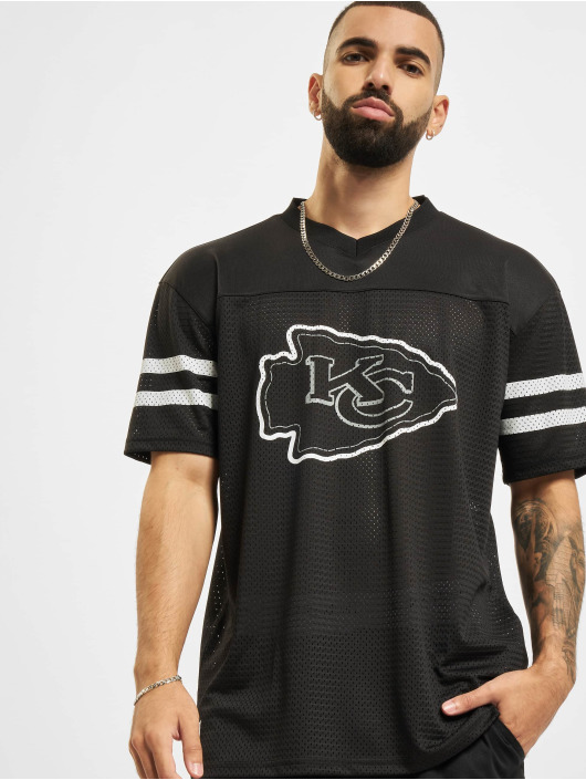 New Era Trika NFL Kansas City Chiefs Outline Logo Oversized čern