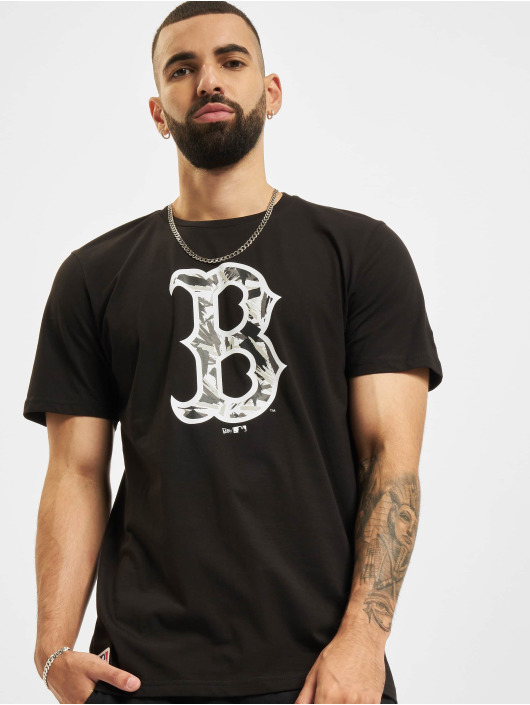 New Era Trika MLB Boston Red Sox Camo Infill čern