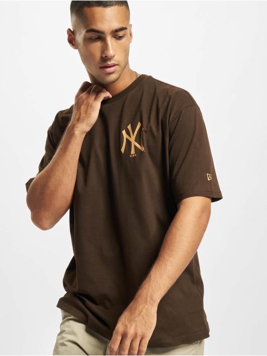 New Era Trika MLB NY Yankees Oversized Seasonal Color hnědý