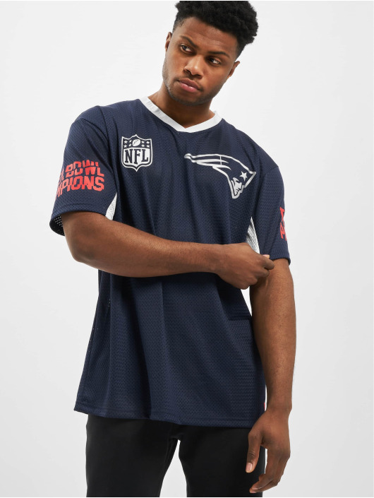 New Era Trika NFL New England Patriots Oversized modrý