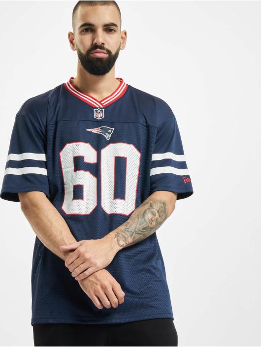 New Era Trika NFL New England Patriots Oversized Nos modrý