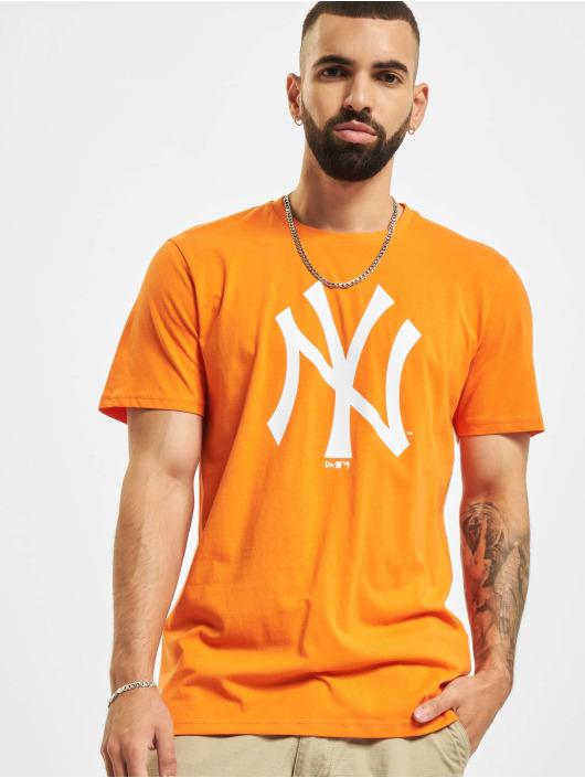 New Era Trika MLB New York Yankees Seasonal Team Logo oranžový