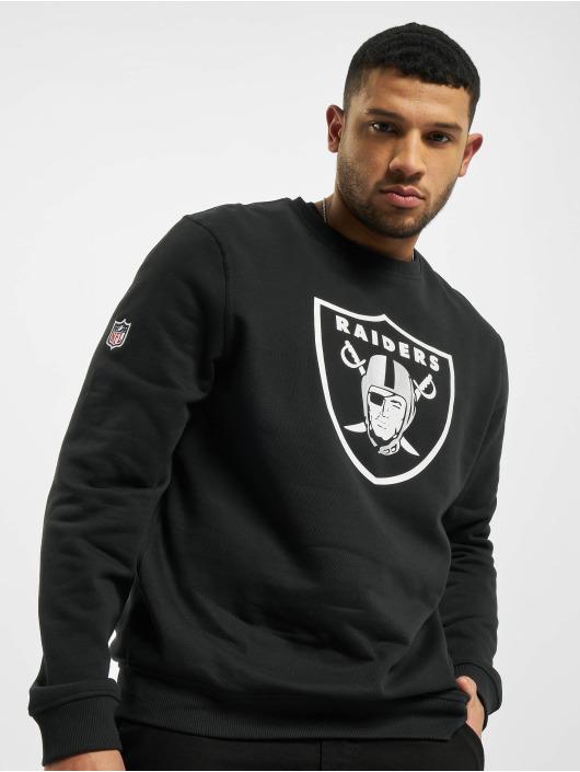 New Era Team Logo Po Hood Men Black Oakland Raiders