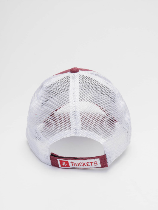 New Era Trucker NBA Houston Rockets Summer League 9forty èervená