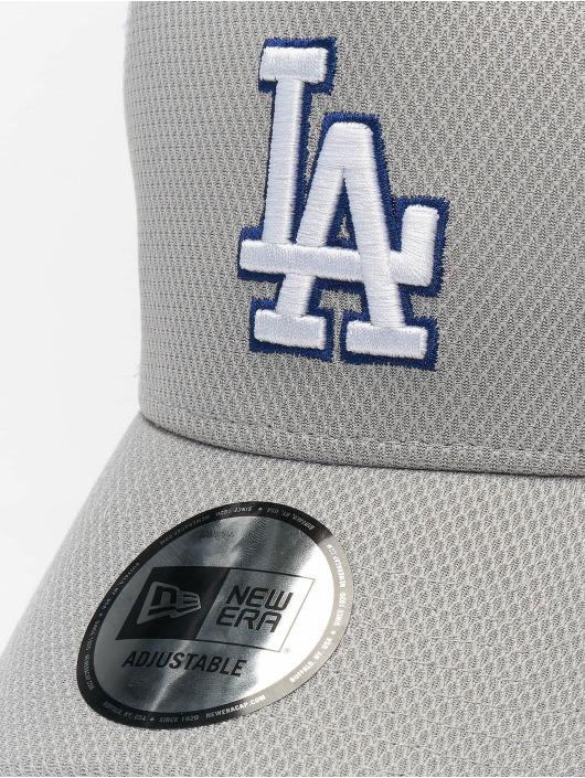 New Era Trucker MLB LA Dodgers Diamond Era 9forty A-Frame šedá