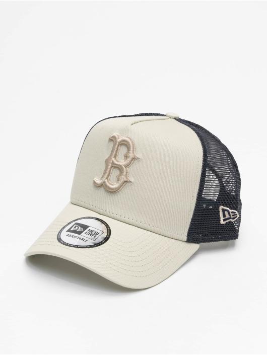 New Era Trucker MLB Boston Red Sox League Essential A-Frame šedá