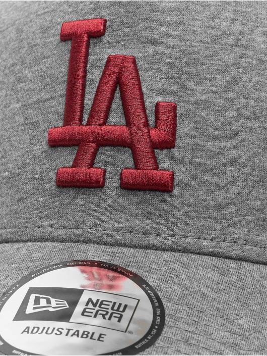 New Era Trucker MLB LA Dodgers Jersey Essential šedá