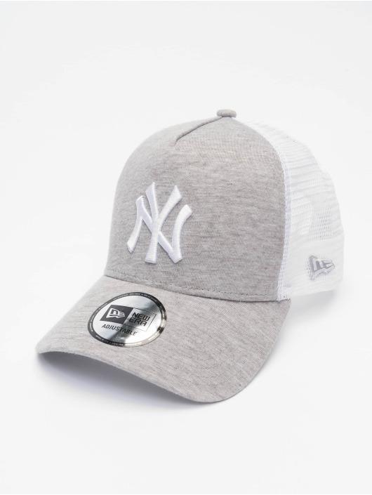 New Era Trucker MLB NY Yankees Jersey šedá
