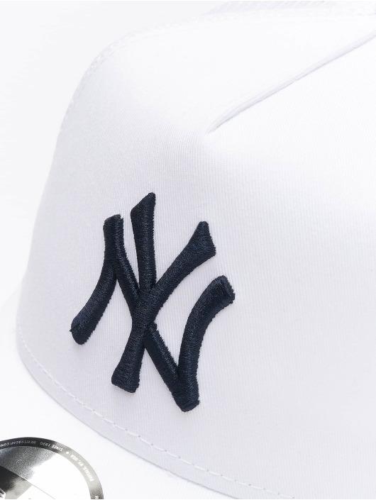 New Era Trucker Cap MLB NY Yankees League Essential bianco