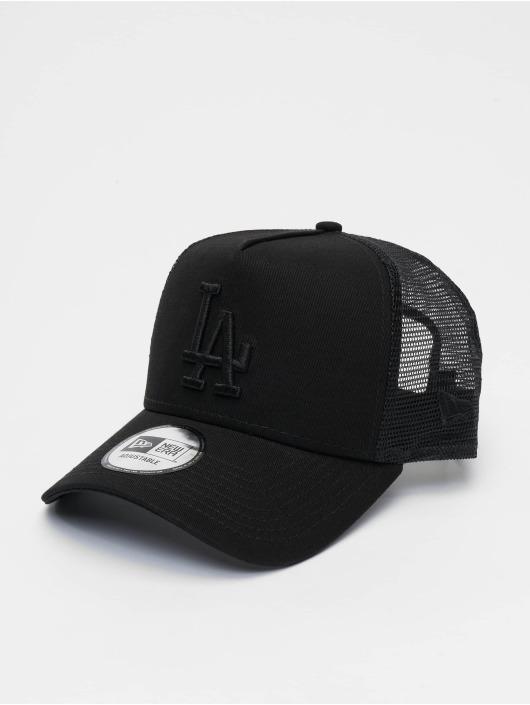 New Era Trucker Cap MLB Los Angeles Dodgers League Essential 9forty A-Frame black