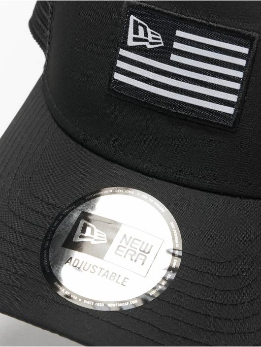 New Era Trucker Cap US black