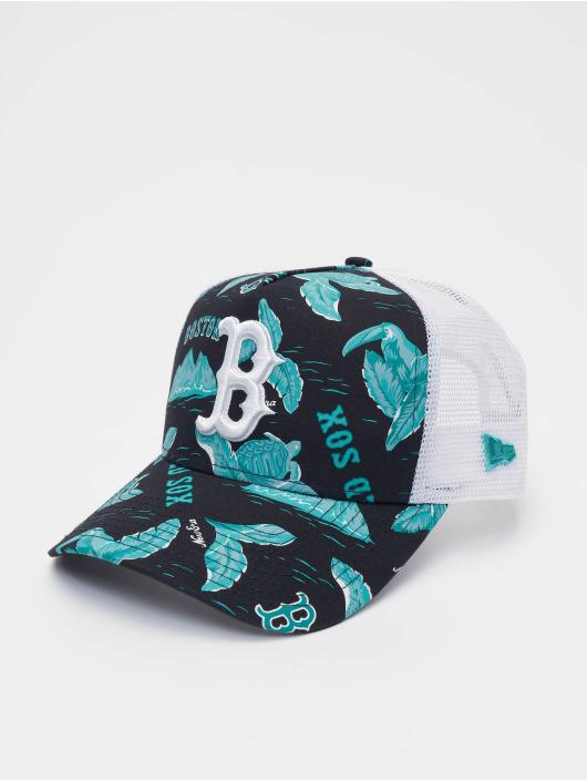 New Era Trucker Cap MLB Boston Red Sox Desert Island 9forty A-Frame blau