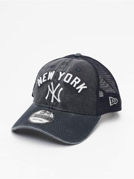 New Era Trucker Cap MLB NY Yankees Rugged Team blau