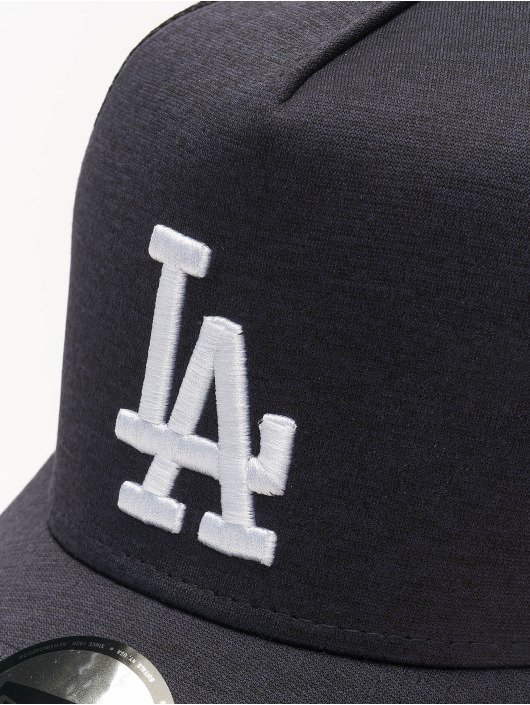 New Era Trucker Cap MLB LA Dodgers Shadow Tech AF blau
