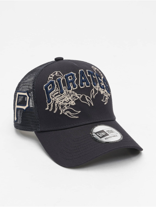 New Era Trucker Cap MLB Pittsburgh Pirates Tech Fabric Licensed Trucker blau