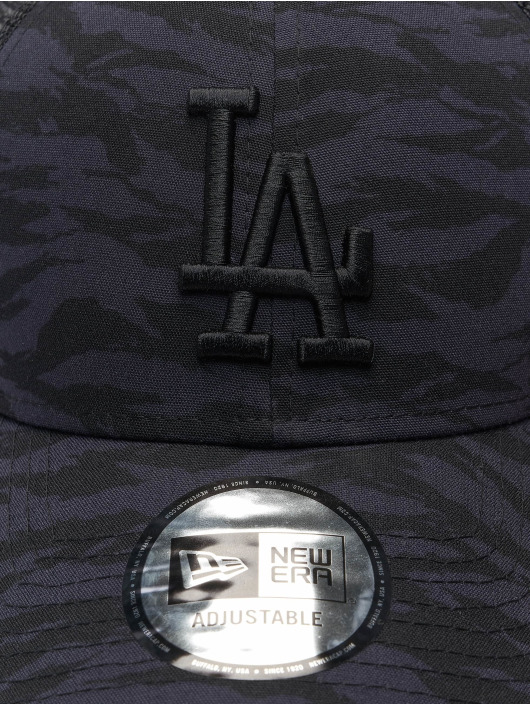 New Era Trucker Cap MLB Los Angeles Dodgers Tiger Print 9Forty blau