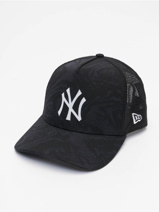 New Era Trucker Cap MLB New York Yankees Seasonal Camo 9Forty AF blau