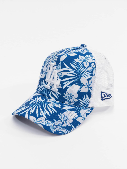New Era Trucker Cap MLB LA Dodgers Infill blu