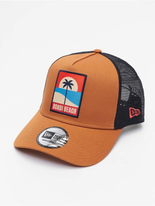 New Era Trucker Cap Summer 9Forty AF braun