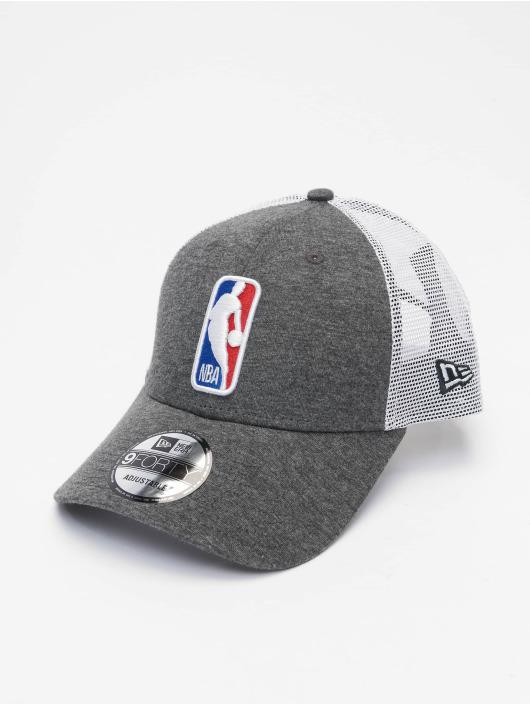 New Era Trucker Cap NBA Logo Home Field 9Forty grau