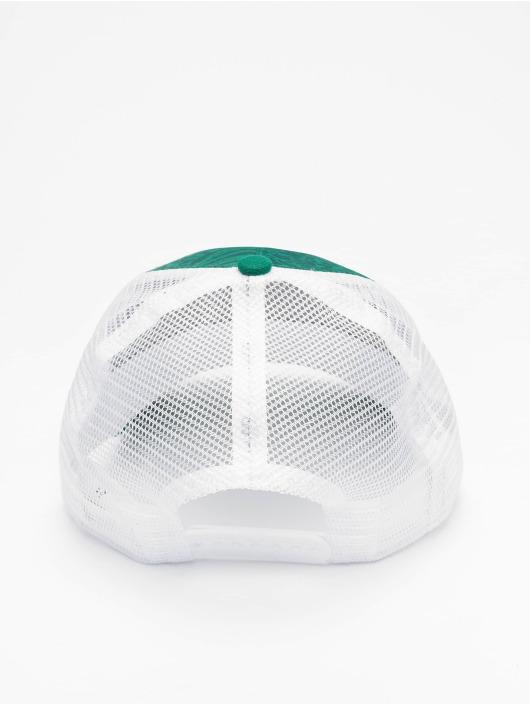 New Era Trucker Cap NBA Boston Celtics Hoo green