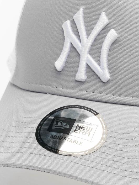 New Era Trucker Cap MLB NY Yankees Clean grey