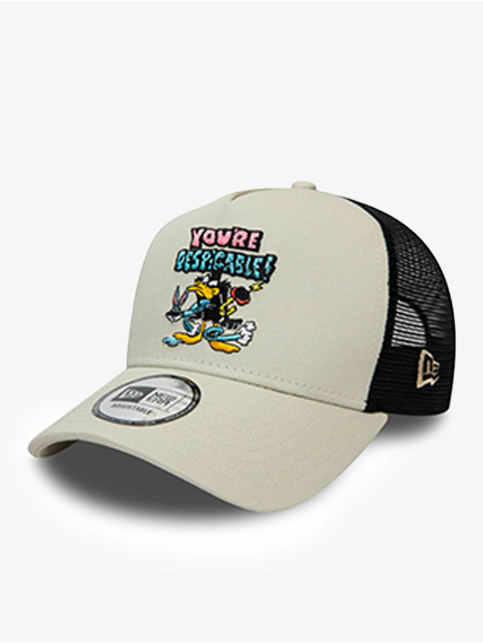 New Era Trucker Cap Warner Bros Daffy Duck Character 9Forty AF grigio
