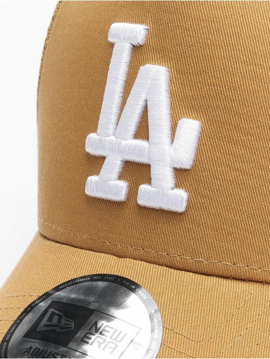 New Era Trucker Cap Mlb Properties Los Angeles Dodgers Tonal Mesh marrone