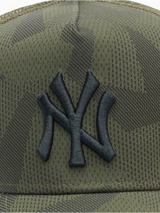 New Era trucker cap MLB New York Yankees Multi Camo 9Forty AF olijfgroen