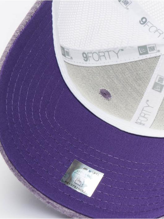 New Era Trucker Cap NBA Los Angeles Lakers Summer League 9forty purple